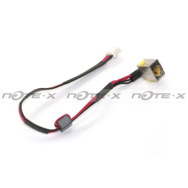 DC JACK power connector+cable PACKARD BELL TK36 TK37 TK81 TK83 TK85 TK87