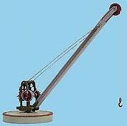 Peco LK-735 Yard Crane Lineside Kit O Gauge