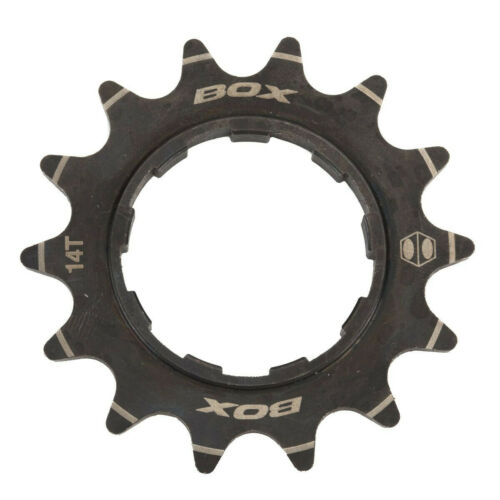 Box Bicycle Cycle Bike Pinion Single Speed Alloy Cassette Cog Black 14T
