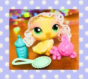 ❤️Authentic Littlest Pet Shop LPS #284 Baby Chick Bird Target Exclusive RARE❤️