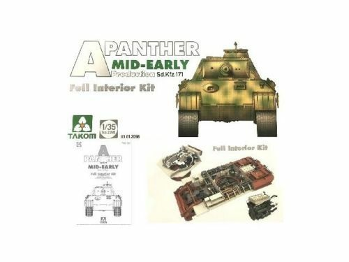 1 35 Takom Panther Ausf.A Mid-Early Production (Full Interior)