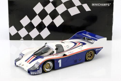 Bell 1:18 Minichamps Porsche 956k #1 clases vencedor 6h silverstone 1982 Ickx