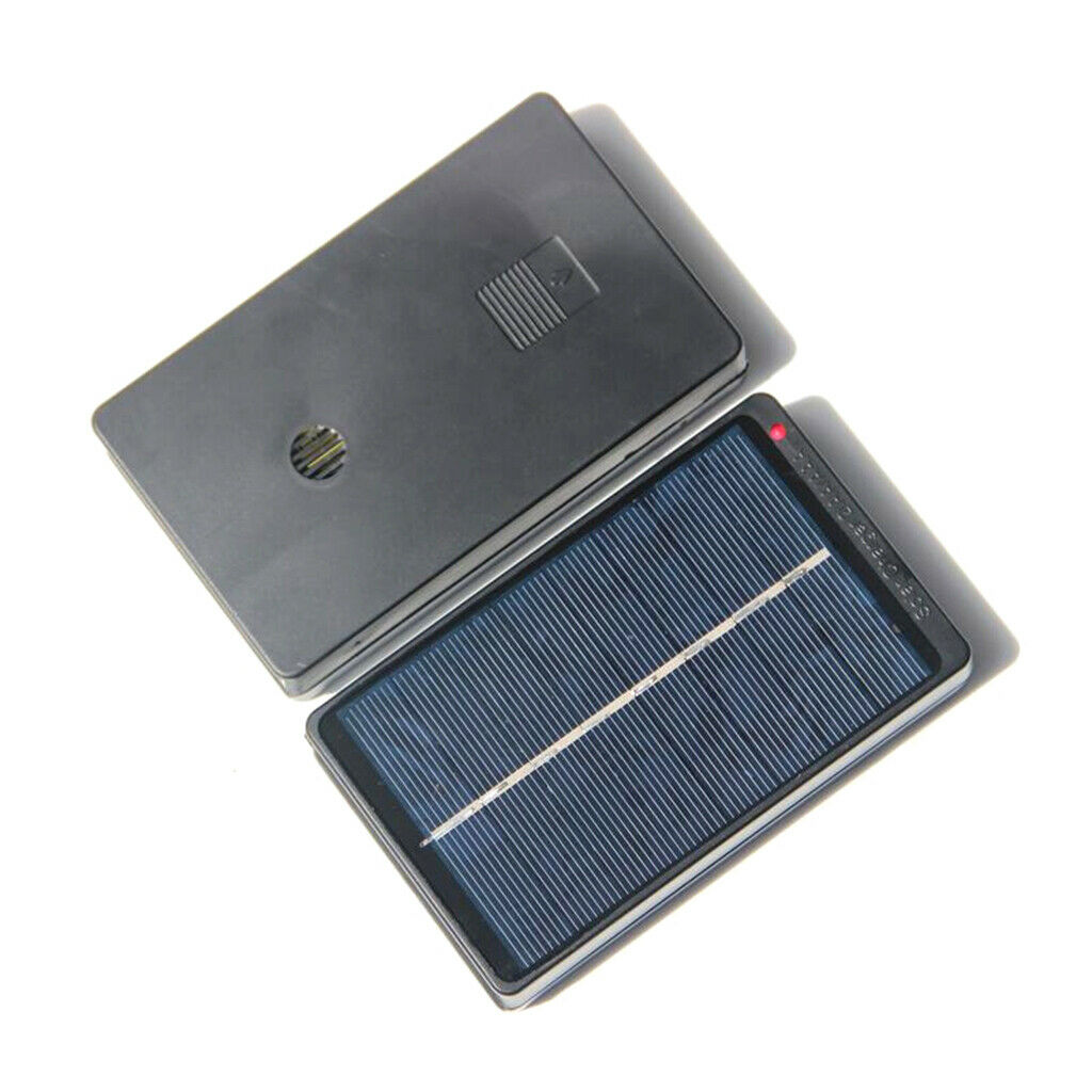 Solar panel battery charger Charger for 4 AA / AAA batteries, long service life