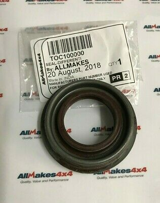 TOC10000 Allmakes OE Land Rover Freelander 1 Rear Diff Oil Seal