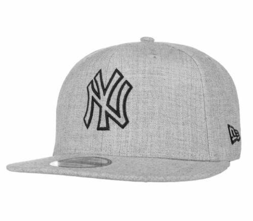 NEW Era Snapback Cap 9 FIFTY Heather Essential NY Yankees Grigio