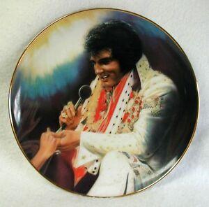 ELVIS-PRESLEY-Plate-LOVING-YOU-2nd-Elvis-Remembered-Susie-Morton-1009J-1989