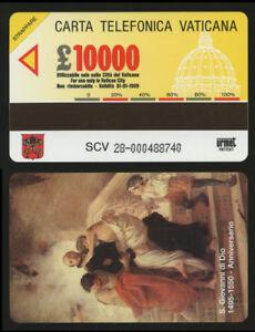 scheda telefonica nuova vaticano S.GIOVANNI DI DIO 1495-1550 ANNIVERSARIO aNpZKV8D-09122133-888503075