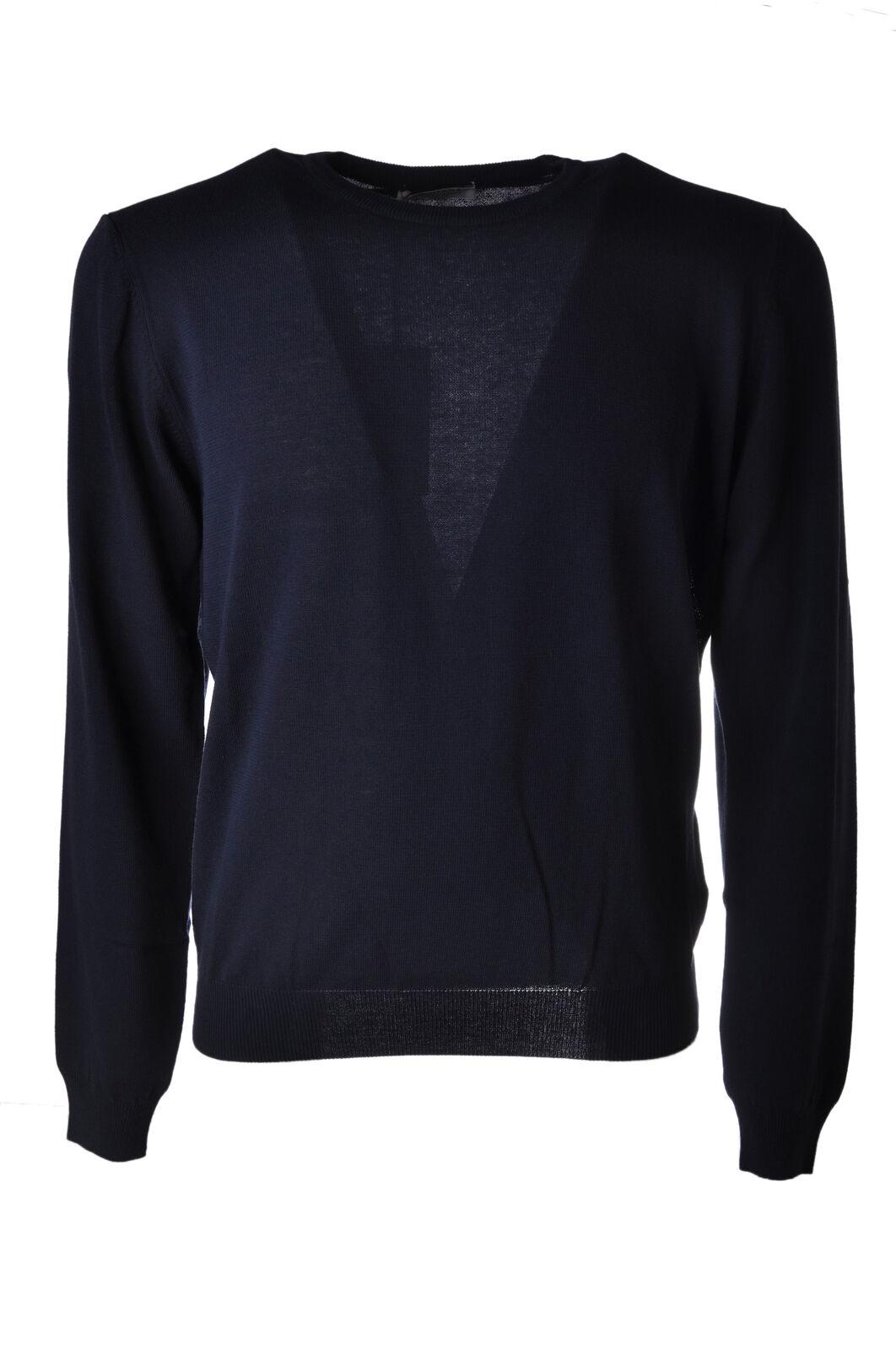 Heritage - Knitwear-Sweaters - Man - Blau - 4897822G181936