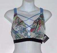 Victoria's Secret By Victoria Sport Lightweight Strappy Bra Summer Blue 36b