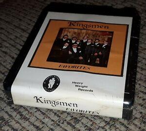 SEALED NEW The Kingsmen 8-Track Tape FAVORITES Heavy Weight Records VTG
