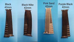 Genuine Apple Nylon Loop Sports Band 42mm, Used, Various Colors