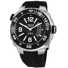 Alpina Men's Extreme Diver Rubber Strap Swiss Automatic Date Watch AL525LBB5AEV6
