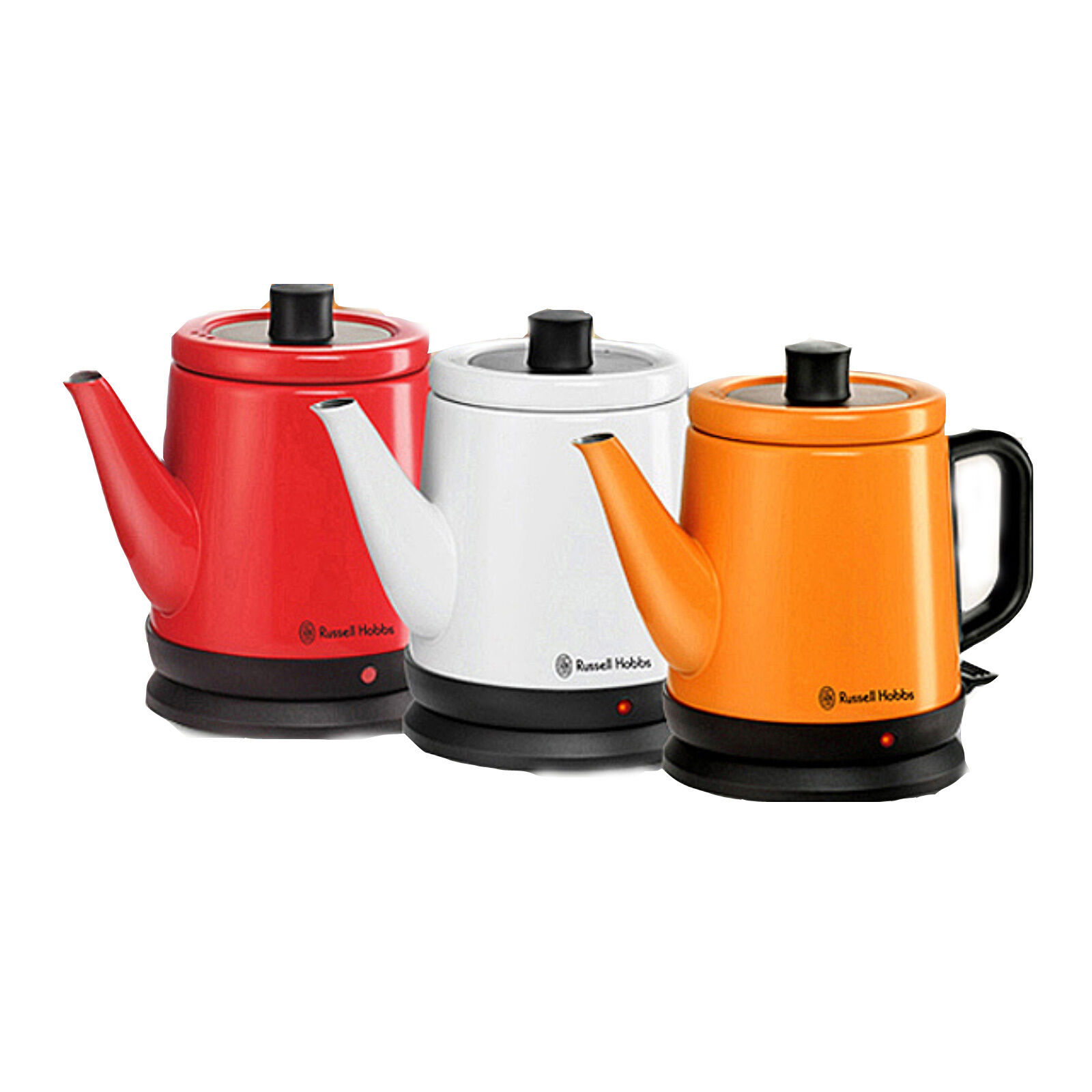 Russell Hobbs RH-080K Stainless Electronic Water Kettle 3color 0.8L 220V
