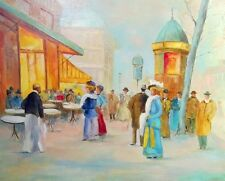 C. BASTIAANS: BEAUTIFUL FRENCH PAINTING - PARIS