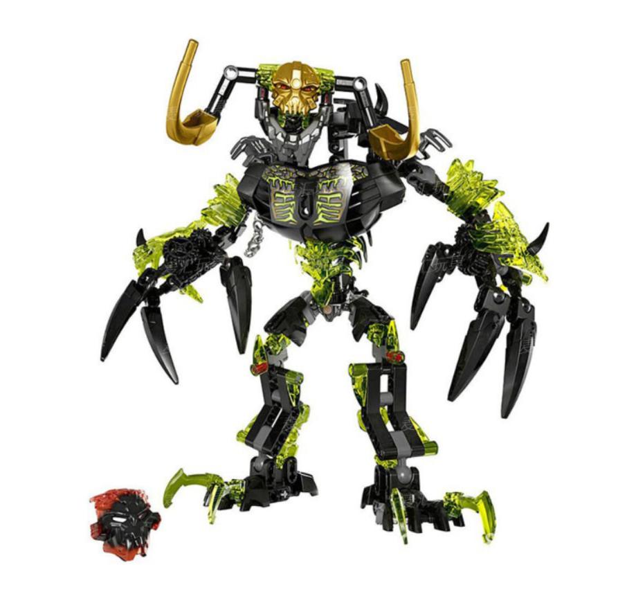 New BIONICLE 172pcs Umarak Hunter figures Building Block Toys  Gift For Children