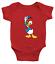 Infant-Baby-Rib-Bodysuit-Clothes-shower-Gift-Donald-Duck-Classic-Walt-Disney thumbnail 7