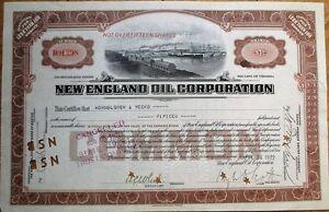 039-New-England-Oil-Corporation-039-1922-Stock-Certificate-Virginia-VA-Brown