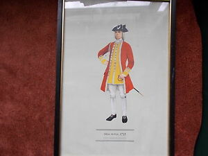 MILITARY-FRAMED-PRINT-BY-P-H-SMITHERMAN-hugh-evelyn-print-officer-6th-foot