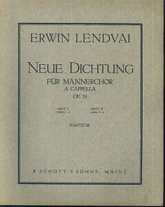 Erwin-Lendvai-Neue-Dichtung-fuer-Maennerchor-a-cappella-Heft-1