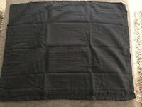 Jcpenney Cotton Classics Fully Reversible Standard Sham 20x26 Black & White