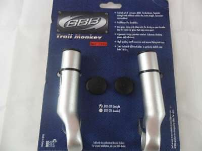 Intelligente Bbb Bar End Trail Monkey Appena Argento- Evidente Effetto