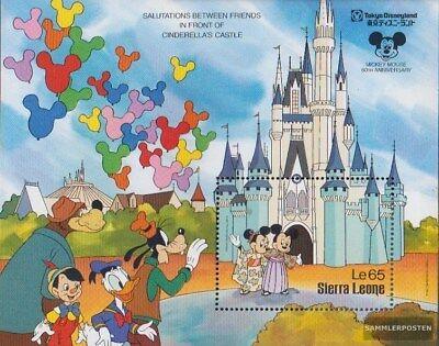 Sierra Leone Block72 kompl.ausg. Postfrisch 1987 60 Jahre Mickey Maus Convenient To Cook