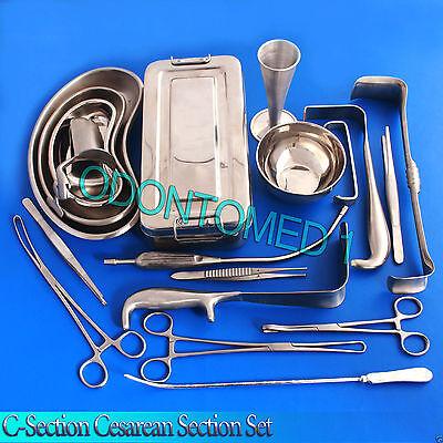 C-Section Cesarean Section Set OB/Gynecology Surgical