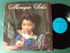 MONIQUE SEKA : Missounwana - LP 1987 French TS 88200 TAHI, MANU LIMA, ABIDJAN