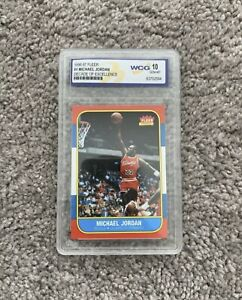 Michael-Jordan-Graded-GEM-Mint-10-Decade-Of-Excellence-Rookie-Anniversary-Card