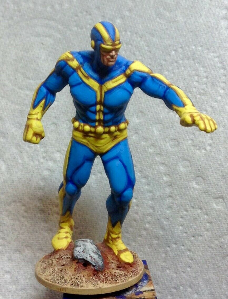 25mm 28mm well painted super hero Marvel comics Avengers Goliath champions gurps
