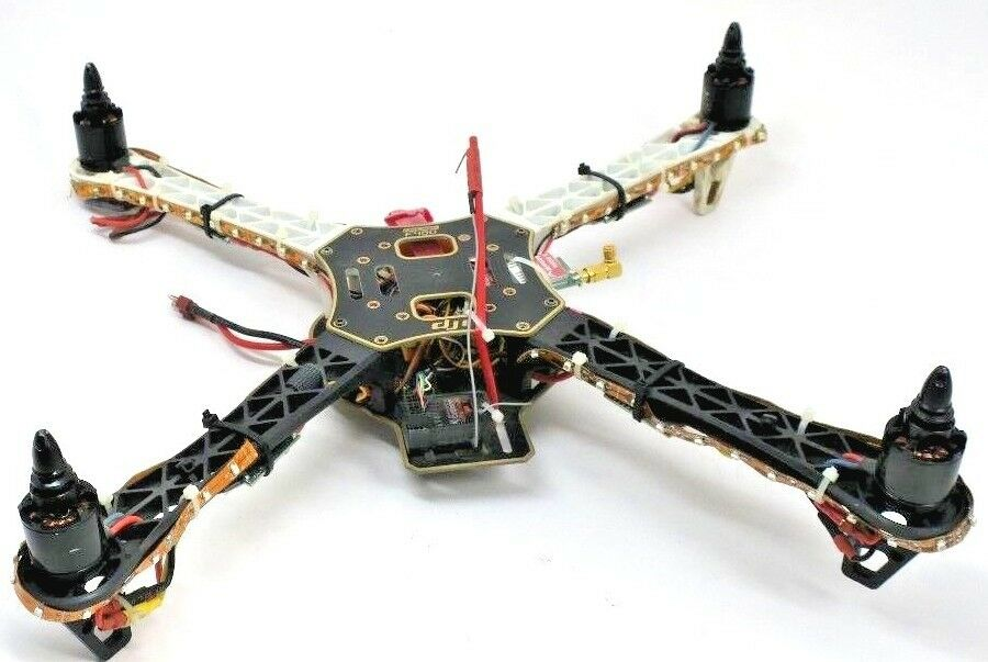 DJI F-450 Flamewheel Quadcopter Sunny Sky Motors V2216-11 Spektrum BNF Lights