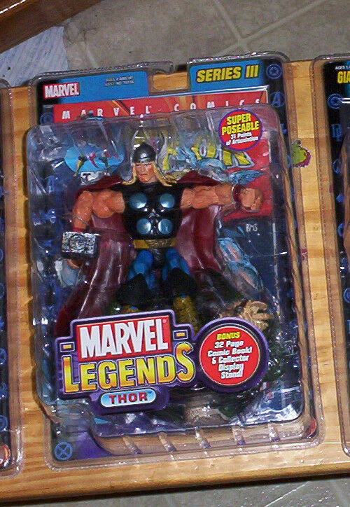 MARVEL LEGENDS Series Series Series 3 III THOR ACTION FIGURE THE AVENGERS 585067