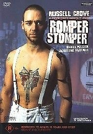 1 of 1 - ROMPER STOMPER DVD=RUSSELL CROWE=REGION 4 AUSTRALIAN RELEASE=NEW AND SEALED