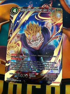 Dragon Ball Super Undying Spirit Son Gohan BT7-029 Rare NM//M