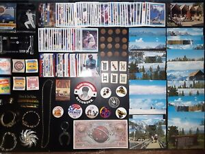 Junk drawer lot. Coins, cards and much more.    (#24)