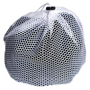 Details About 1pcs White Washing Clothes Net Bags Mesh Wash Laundry Bag For Machines