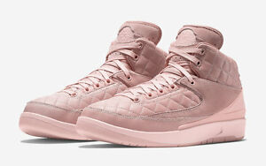 new product 15c5f 4a2f7 Details about 2017 Nike Air Jordan 2 Retro Just Don C GG SZ 4Y Arctic  Orange Pink 923840-805