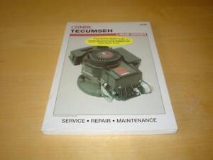 tecumseh l head engine ecv hh hm 100 120 tvs service repair manual rh ebay com Tecumseh Engine Governor Adjustment Tecumseh Vertical Engines