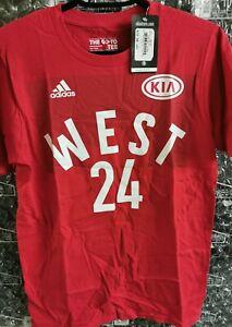 2016 Adidas Los Angeles Lakers Kobe Bryant All Star Jersey Tee ...