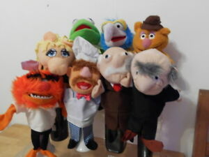 Muppets-Show-Handpuppe-Figur-Muppet-Kermit-Miss-Piggy-Waldorf-Statler-Auswahl