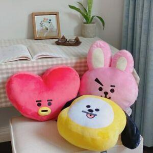 "New Cute Bangtan Boys BTS BT21 Large Plush Pillow Stuffed Toy Kpop Gift 14"""
