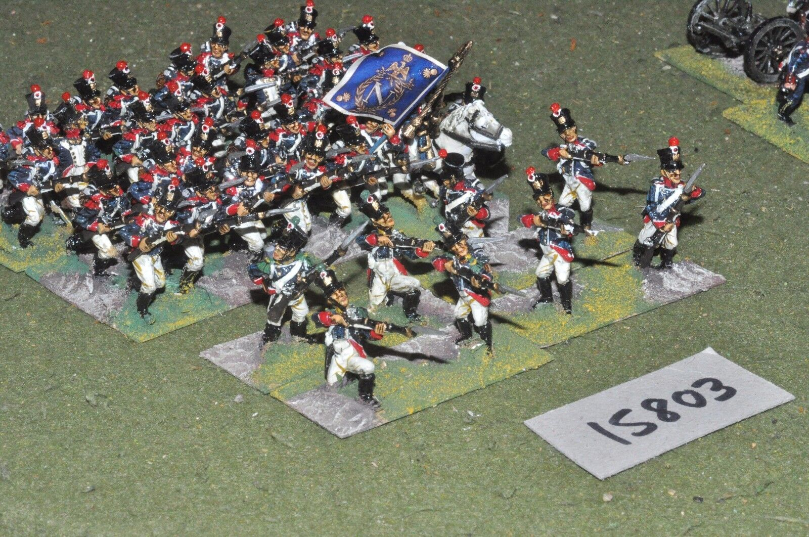 25mm napoleonic   french - young guard 40 figs by mac warren - inf (15803)