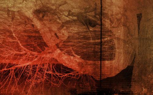 "/""Abrogated Gestation/"" JUDGEHYDROGEN giger dali apocalypse 11 x 17 poster"