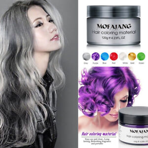 Multi-Colors-Unisex-Temporary-Modeling-Fashion-DIY-Hair-Color-Wax-Mud-Dye-Cream