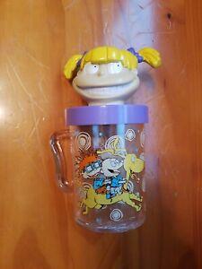 Vintage RUGRATS Collectibles Angelica Twist /& Swirl Straw Nickelodeon 1998