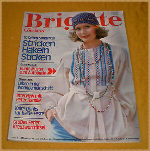 Brigitte mit constanze im gro format 14 1974 70er mode stricken etc ebay - 70er mode hamburg ...