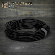 American Bonsai Black Aluminum Training Wire - 5.0mm - 1 kilogram - 64 ft - 1k