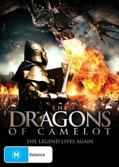 The Dragons Of Camelot (DVD, 2014)*R4*Terrific Condition*