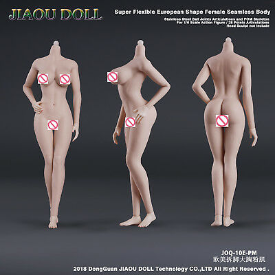 JIAOU DOLL 1//6 Female Figure Body Model Brown Skin Big Bust 12/'/' Doll JOQ-10D-BM