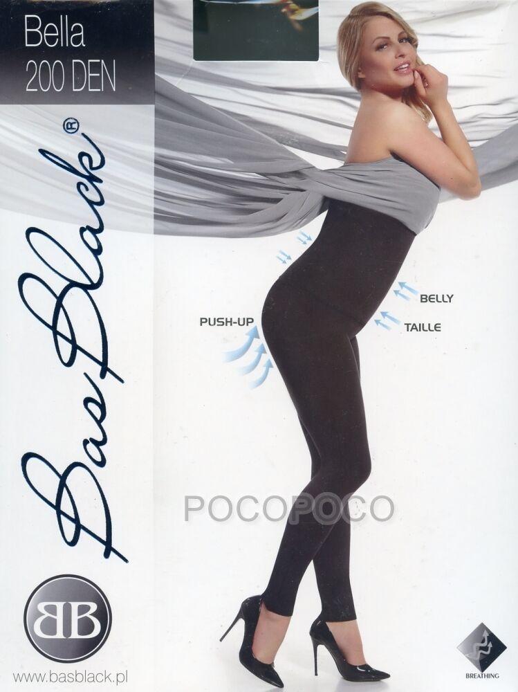 LEGGINGS POST GRAVIDANZA 200 DEN BAS BLACH ART. BELLA